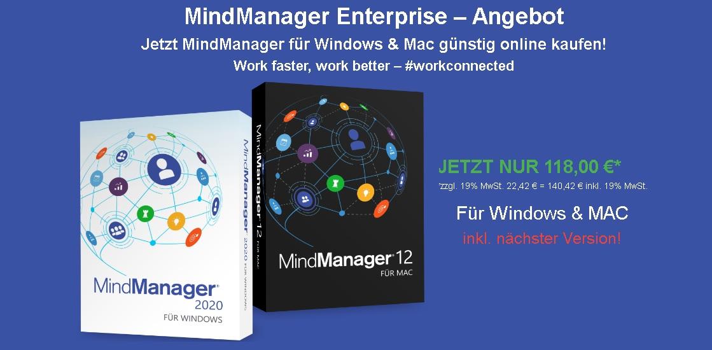 MindManager Enterprise Special für Windows und Mac
